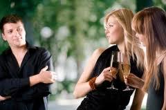 man flirt met vrouwen