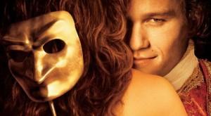 Vrouwenversierder met masker