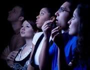 Mensen in de bioscoop