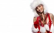 aantrekkelijke kerstvrouw