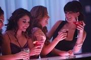 Sexy vrouwen in een bar