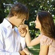hand kiss