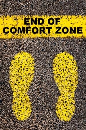 actie ondernemen comfort zone