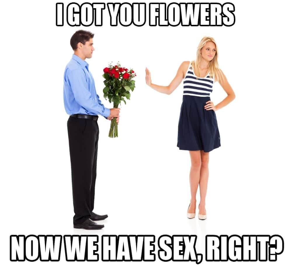 bloemen eerste date faal