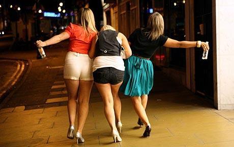 dronken vrouwen