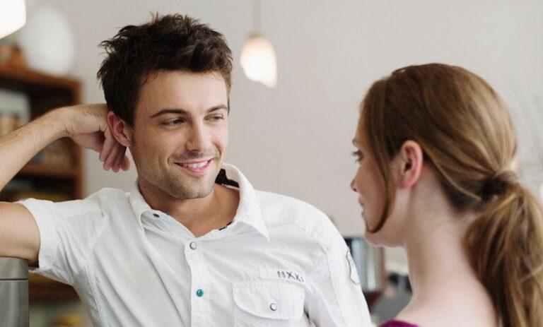 Flirten lichaamstaal mannen