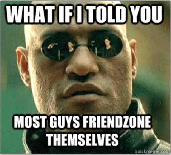 friendzone plaatje matrix