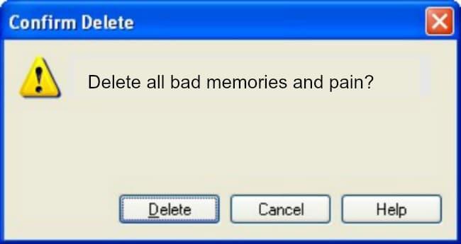 herinneringen wissen