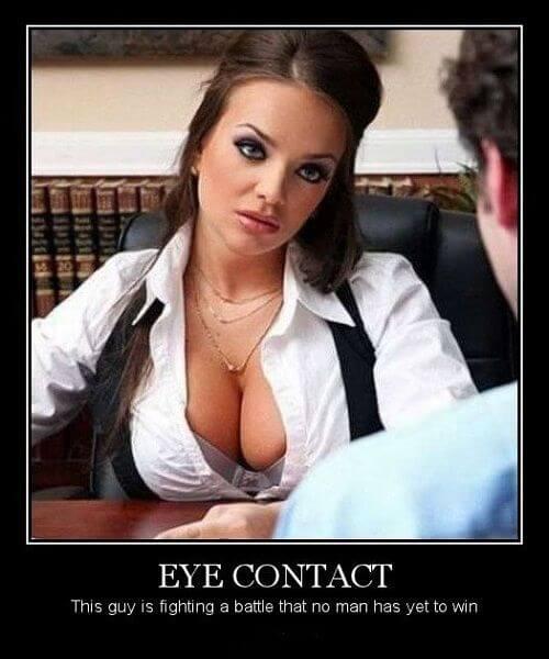 oogcontactborsten