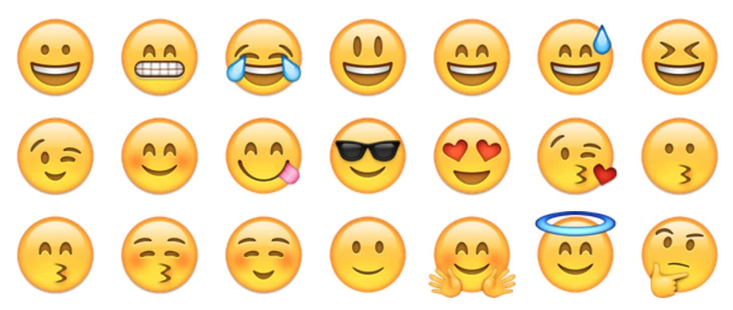 teveel smileys