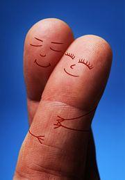 Wijs en middelvinger